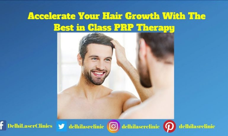 Accelerate Your Hair Growth With The Best in Class PRP Therapy
